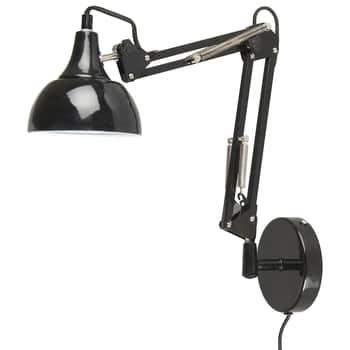 Nástenná lampa Metal Black