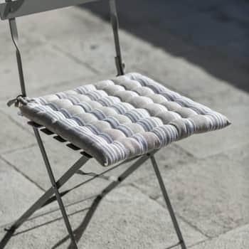 Sedák na stoličku Latte Stripes