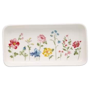 Porcelánový tácek Thilde White
