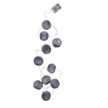 Světelný LED řetěz slampionky Dusty Dark Blue