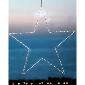 Svítící LED hvězda Liva Star 70 cm