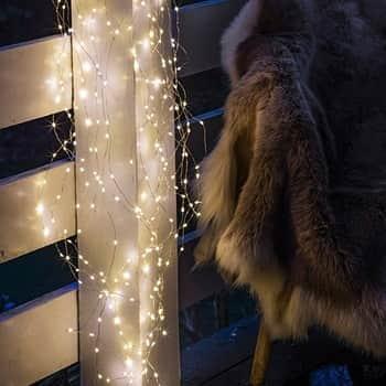 Světelný LED drátek Knirke 8m