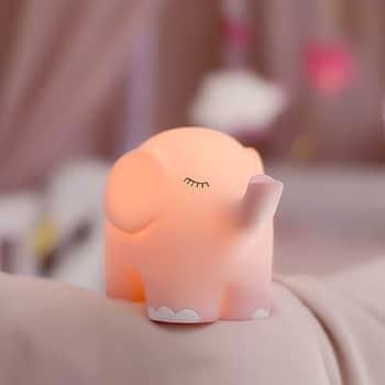 Dětská lampička Pink Elephant