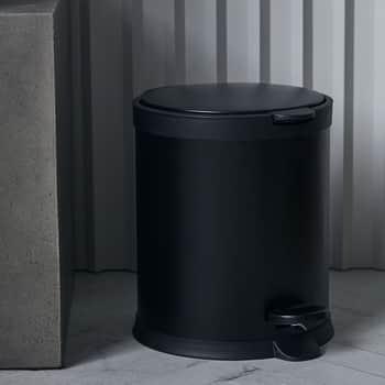 Odpadkový koš Eda Black 5l