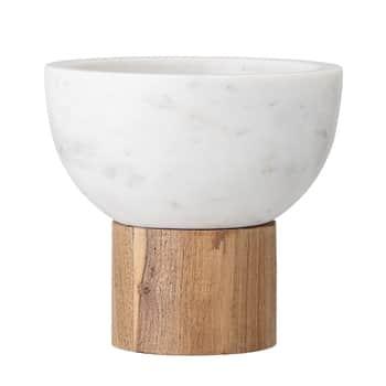Servírovací miska na stojánku Marble