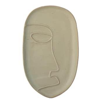 Dekorativní kameninový tác Ngan Green