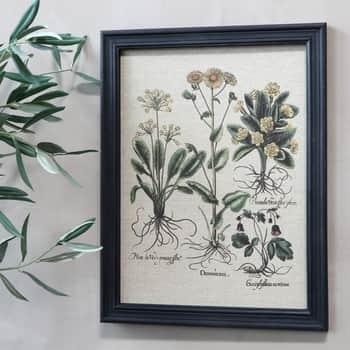 Botanický obraz vrámu Flowers 43x33cm