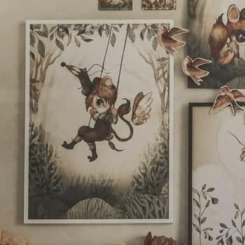 Plakát Mr. Lucas 70×50 cm