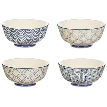 Porcelánová miska Sashiko