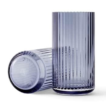 Skleněná váza Vase Blue 20 cm