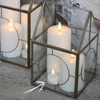 LED čajová svíčka sbaterií White