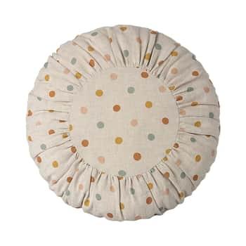 Dětský polštářek Round Larg Multi Dots 40 cm