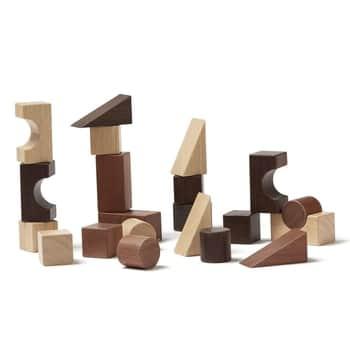 Dřevěné stavební kostky Neo Natural