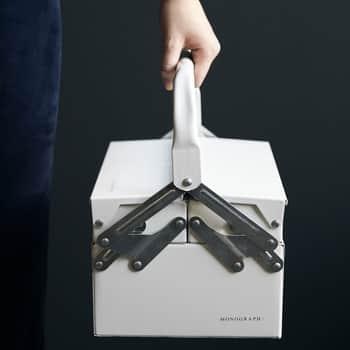 Kufřík na nářadí Optimus White