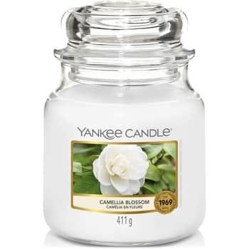 Svíčka Yankee Candle 411g - Camellia Blossom