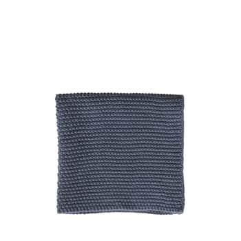 Pletený hadřík Dark Grey