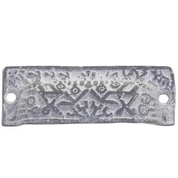 Kovová úchytka Long Antique Grey
