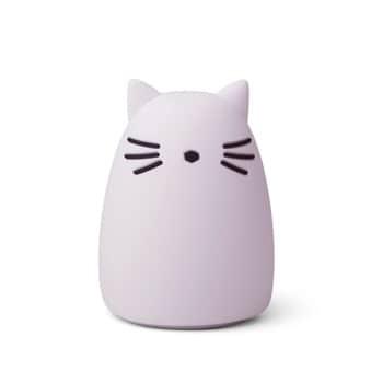 Dětská noční lampička Winston Cat Light Lavender