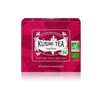 Ovocný čaj Kusmi Tea - AquaRosa 20 sáčků
