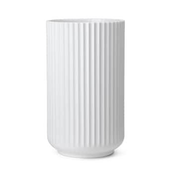 Porcelánová váza Vase White 25 cm