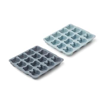 Silikonová forma na led Sonny Blue - set 2 ks