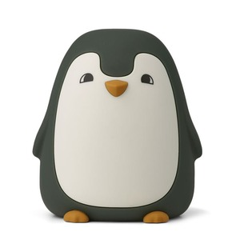 Dětská noční lampička Ditlev Penguin Hunter Green