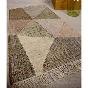 Jutový koberec Handwoven Patchwork 60x90cm