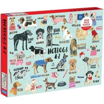 Puzzle Hotdogs A-Z - 1000 dílků