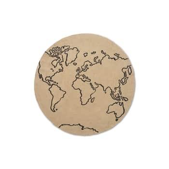 Jutový koberec World 120 cm