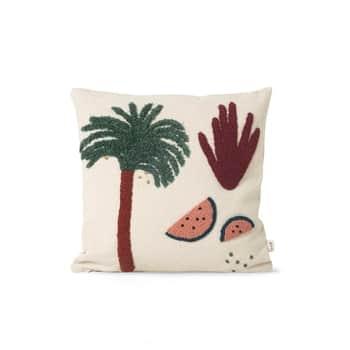 Vankúš svýplňou Palm 40x40 cm