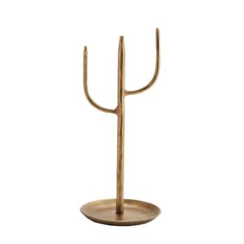 Kovový stojan na šperky Gold 24 cm
