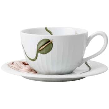 Porcelánový šálek spodšálkem Hammershøi Poppy