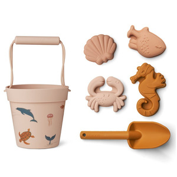 Hračky na piesok Dante Beach Set Sea Creature Rose