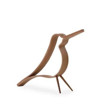 Dřevěný dekorativní ptáček Woody Bird Oak Small