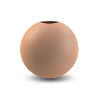 Kulatá váza Ball Cafe Au Lait 20 cm