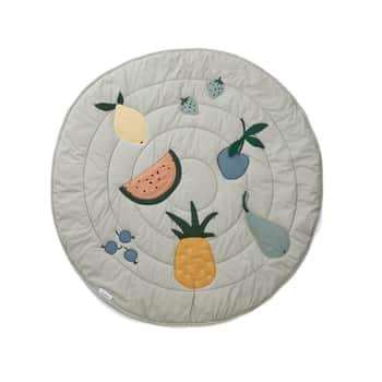 Hrací deka pro děti Gitta Fruit Dove Blue