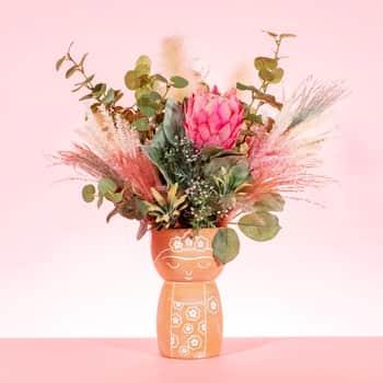 Keramická váza Frida