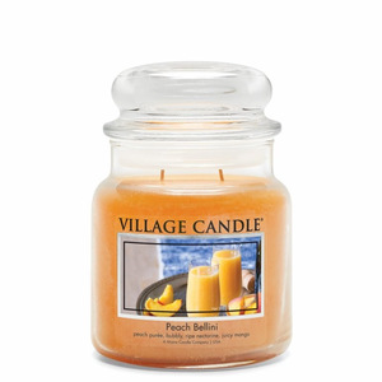 Svíčka Village Candle - Peach Bellini 389g