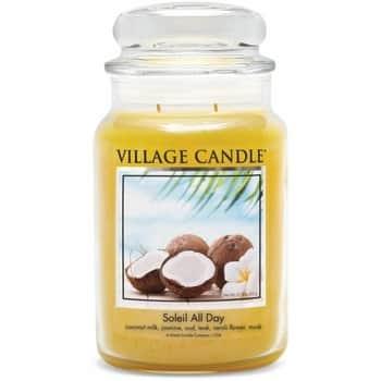 Svíčka Village Candle - Soleil All Day 602g