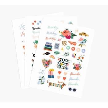 Samolepky do diáře Everyday Sticker - Set 3 archů