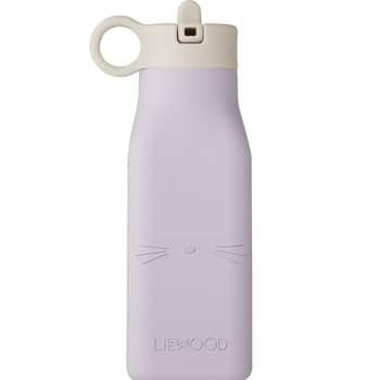 Dětská lahev Warren Bottle Cat Light Lavender 350ml