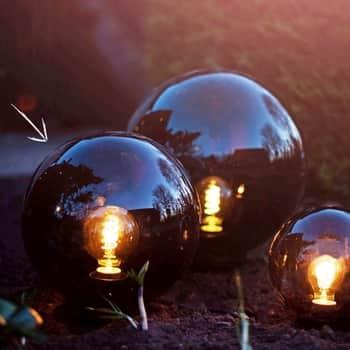 Venkovní osvětlení Orby Ø30 cm