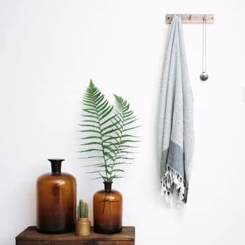 Bambusový ručník White Bamboo Hammam 170×100 cm