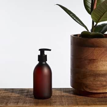 Plastový zásobník na mýdlo spumpičkou Amber Matte 300ml