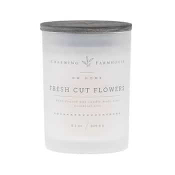 Vonná svíčka ve skle Fresh Cut Flowers 230g