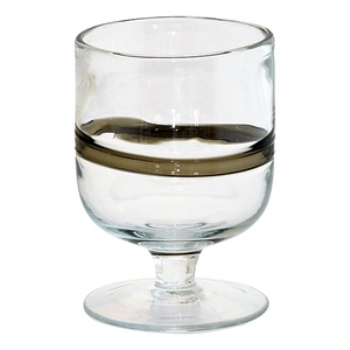 Sklenice na víno Black Stripe 400ml