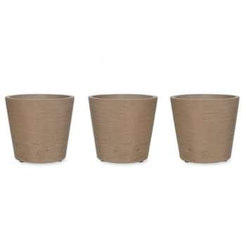 Cementový obal na květináč Stratton - Set 3 ks