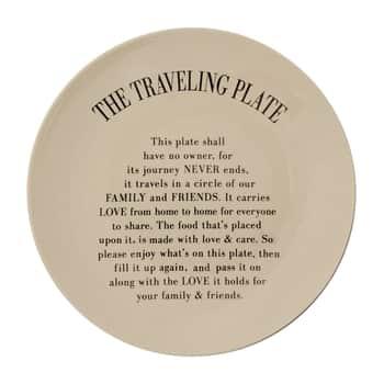 Keramický talíř Traveling Plate