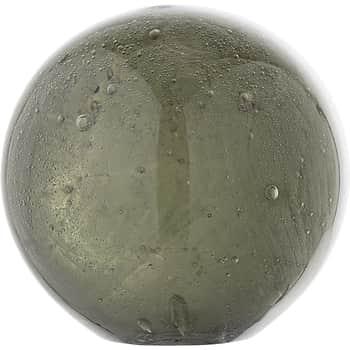 Skleněné těžítko Ball Green