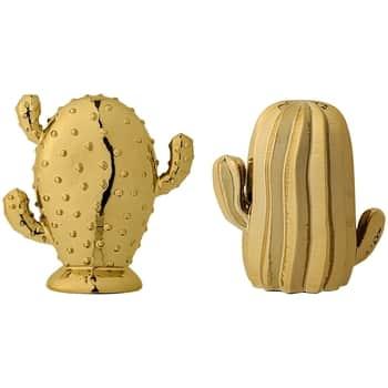 Dekorativní keramický kaktus Gold